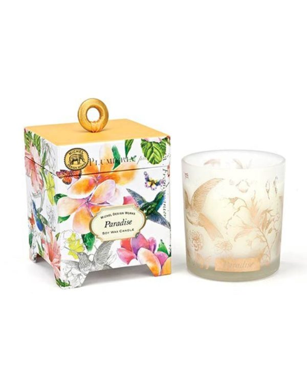 michel design works paradise soy wax candle