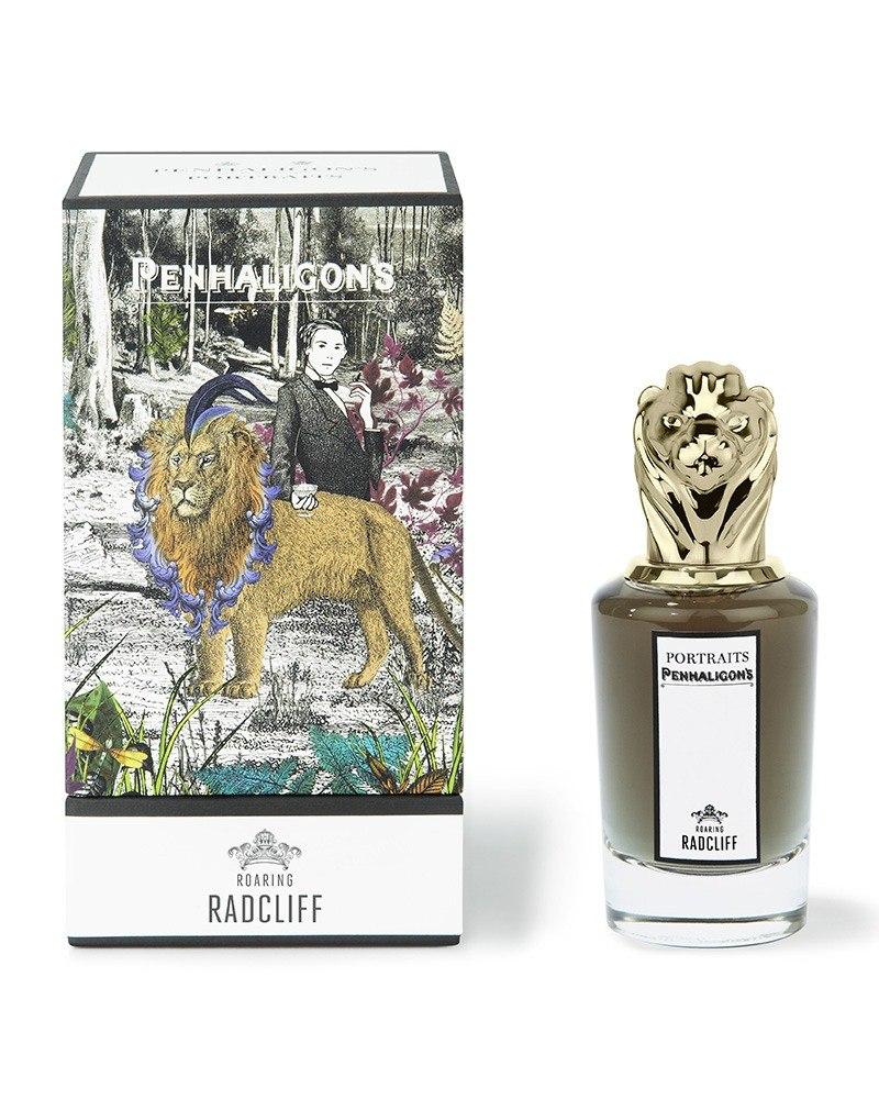 penhaligons london portraits roaring radcliff eau de parfum schachtel und flasche