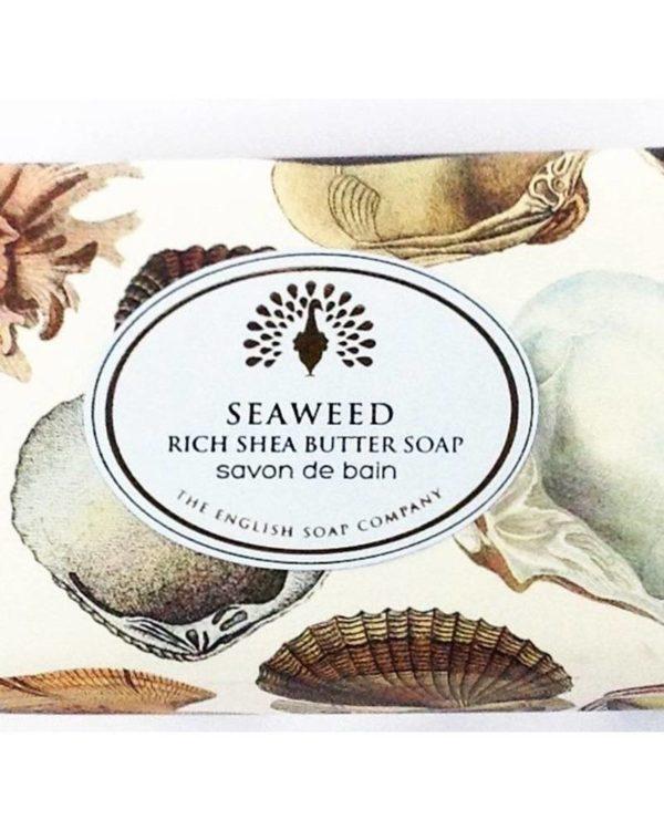 the english soap company seaweed rich shea butter soap savon de bain