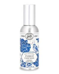michel design indigo cotton room spray