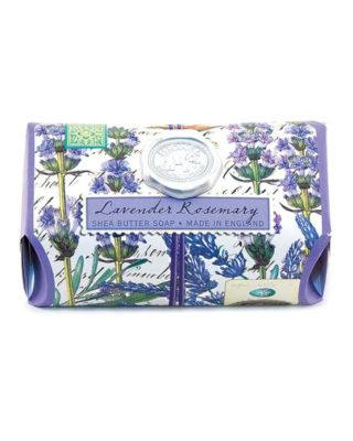 michel design works lavender rosemary shea butter bath soap made in england