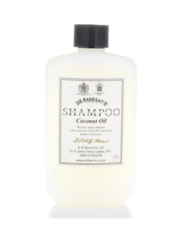 d.r. harriscoconut oil shampoo