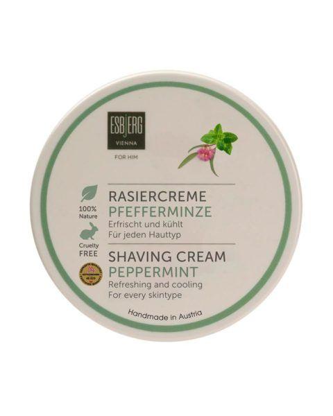 esbjerg shaving cream peppermint
