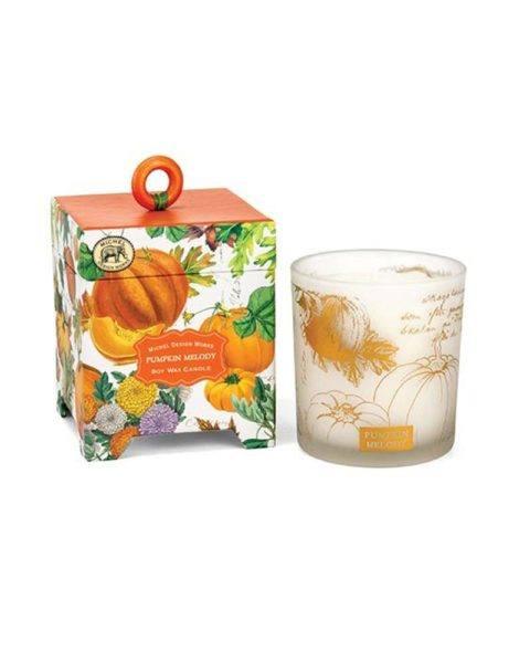 michel design works pumpkin melody candle