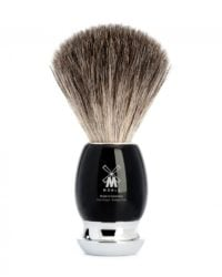 shaving brush black