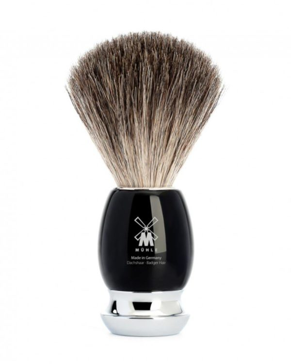 shaving brush black