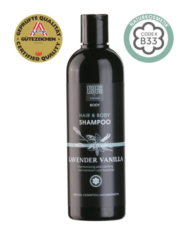 ESBjERG Hair & Body Shampoo Lavender Vanilla