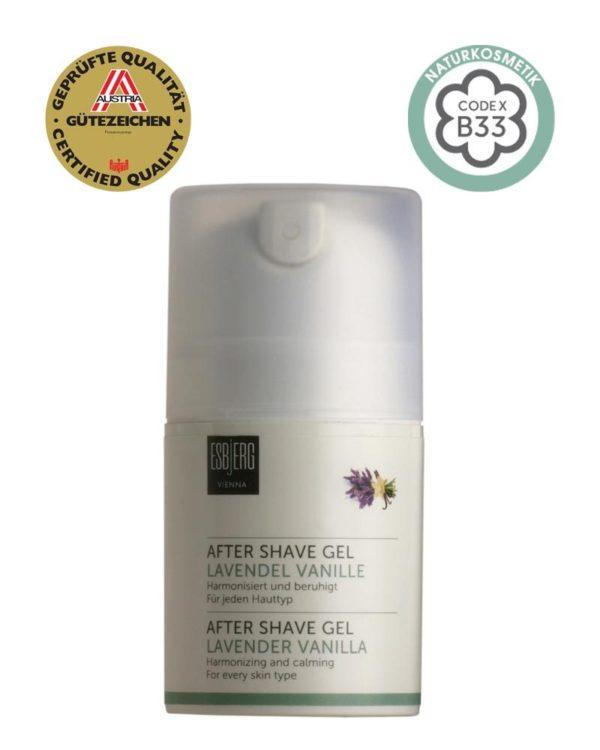 Esbjerg Aftershave Gel Lavender Vanilla