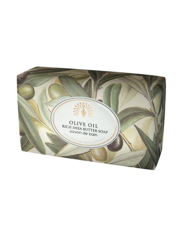 english soap company olive oil shea butter soap