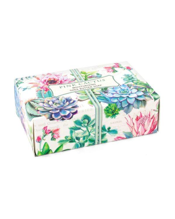 michael design works - pink cactus soap