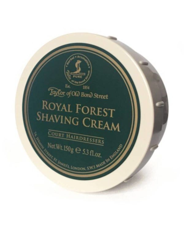 taylor of old bond street - royal forest shaving cream